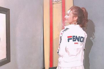FENDI×FILAが大人気