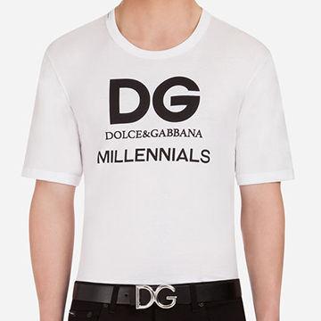 DGメンズTシャツもお洒落で可愛い