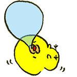 毎週月曜更新担当のはるちゃんヒヨコです!