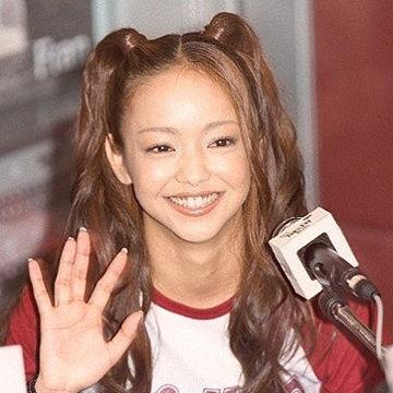 安室奈美恵といえばハーフツインテール