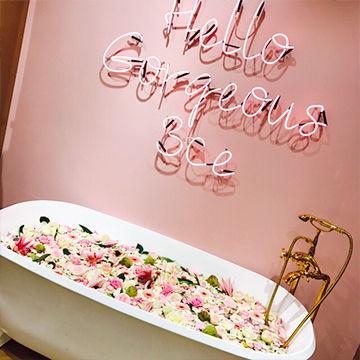 明洞のピンクホテルがかわいい♡