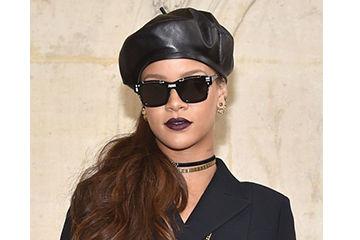 リアーナのMODEなベレー帽がかっこいい