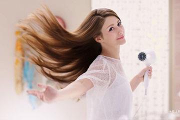 サラサラの髪の毛に
