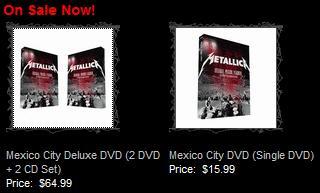 メキシコ公演DVD