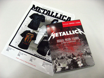 Metallica Mexico DVD