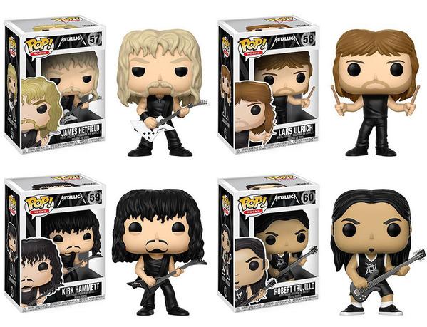 MetallicaFunkoPop
