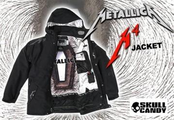 メタリカM4ジャケット