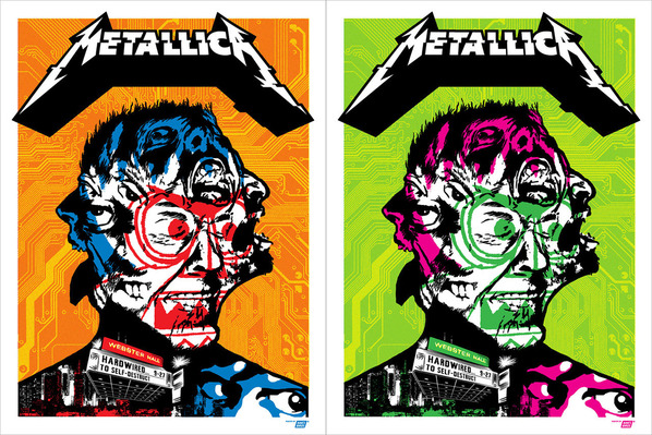 metallica-2016-webster-hall-poster-var