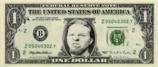 ジェイムズの1ドル札
