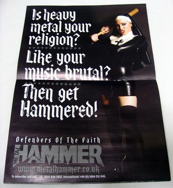 HAMMER 2011 中表紙