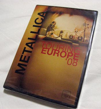 Touring Europe 08 Metallica