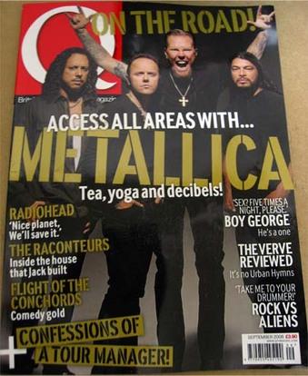 Q Magazine 2008年9月号