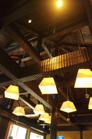 カフェコーナーの天井