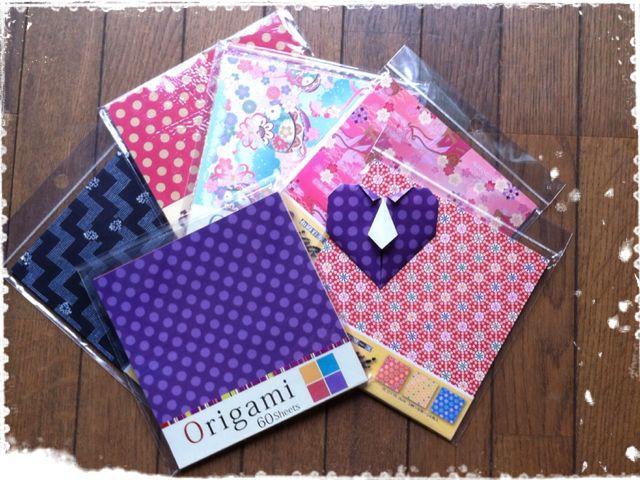 ハート 折り紙 折り紙 購入 : blog.livedoor.jp