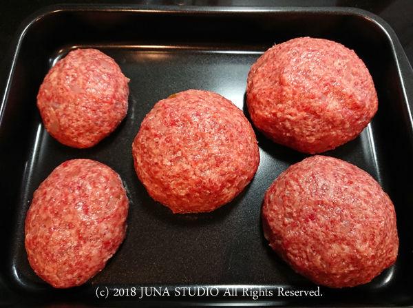 【今日のおべんと】ハンバーグサンド弁当と昨日の晩ごはんのハンバーグ