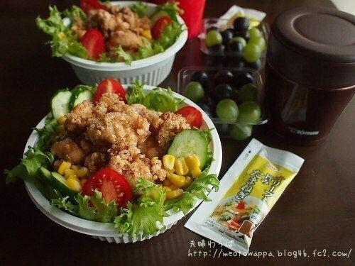 9月21日 唐揚げ丼と豚汁弁当