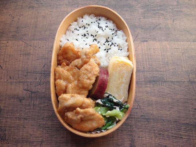 【地味弁】鶏むね肉の生姜焼き弁当と、つい年齢が出る言い方