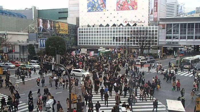 日本からは2か所、世界で最も混雑した場所20選(海外の反応)