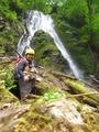 スダレ状10m滝
