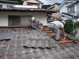 融ける屋根解体