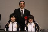 上田市長と二人