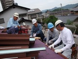 コロナ屋根の施工講習