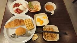 0ホテル朝食
