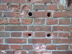 17福知山陸軍演習陣地北煉瓦壁穴