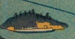 蛇島鳥瞰図