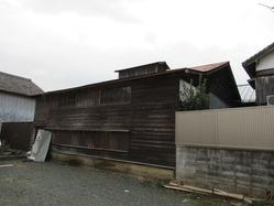 8中ノ町の木造工場棟