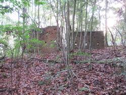 9福知山陸軍演習陣地煉瓦壁