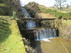 4岸谷貯水池放水路
