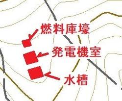 愛宕山防空砲台発電施設群