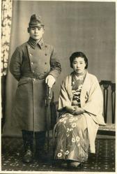 陸軍曹長時代と祖母