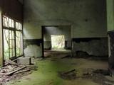 朝来第三火薬廠砲炸薬整形工場内部