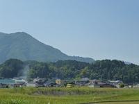 1中世観瀧寺跡遠景