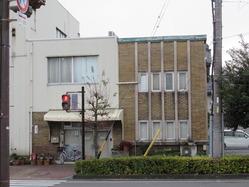 31スクラッチタイルの洋風看板建築 神田町1丁目