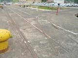 旧海軍北吸桟橋引き込み線2