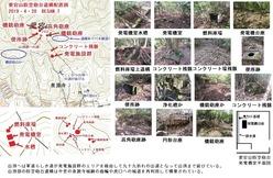 愛宕山防空砲台配置図1