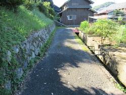14外郭の塀基礎