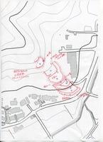 福知山市山崎城縄張図001
