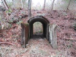 23三山木海軍火薬製造所火薬庫隧道