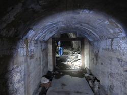 9地下壕コンクリート造部分