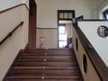 部室前階段
