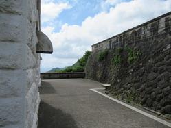 39経ヶ岬灯台擁壁