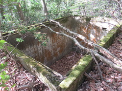 2愛宕山防空砲台水槽