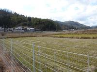 1山崎城遠景