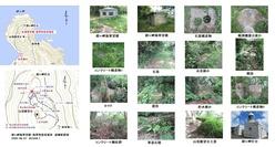経ヶ岬海軍望楼・海軍特設見張所遺構配置図