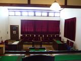 旧篠山区裁判所法廷