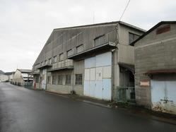 10福知山海軍航空基地格納庫